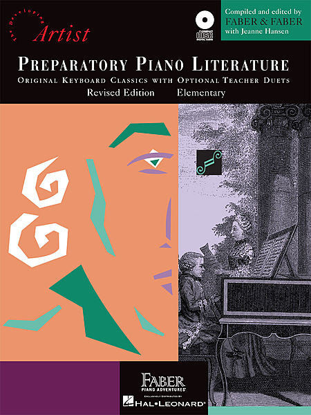 Preparatory Piano Literature Developing Artist Original Keyboard Classics Original Keyboard Classics with opt. Teacher Duets compiled by Faber & Faber with Jeanne Hansen Faber Piano Adventures Book/CD Pack