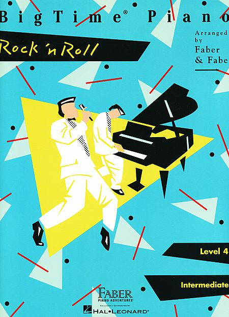 BigTime Rock 'n' Roll Level 4 Faber Piano Adventures Book