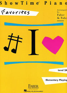 ShowTime Favorites Level 2A Faber Piano Adventures Book