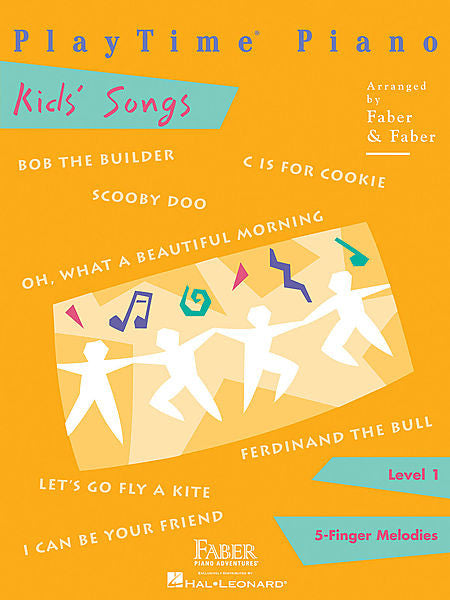 PlayTime Kids' Songs Level 1 Faber Piano Adventures Book