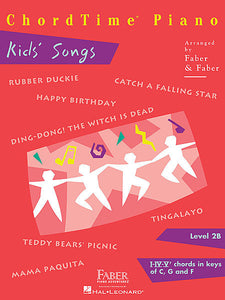 ChordTime Kids' Songs Level 2B,  Faber Piano Adventures Book
