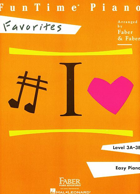 FunTime Favorites Level 3A-3B Faber Piano Adventures Book