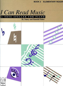I Can Read Music - Book 2 Elementary Reading Faber Piano Adventures