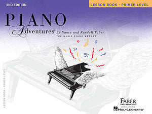 Primer Level - Lesson Book - 2nd Edition Piano Adventures Faber Piano Adventures Lesson Book