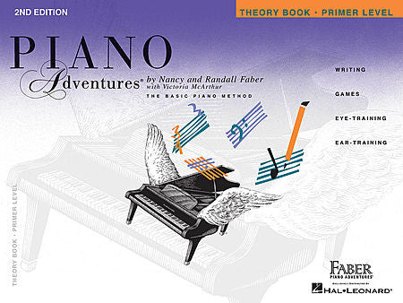 Primer Level - Theory Book - 2nd Edition Piano Adventures Faber Piano Adventures Theory Book