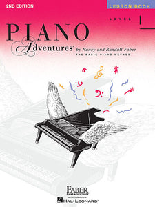Level 1 - Lesson Book - 2nd Edition  Faber Piano Adventures