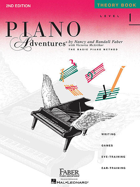 Level 1 - Theory Book - 2nd Edition Piano Adventures Faber Piano Adventures Theory Book
