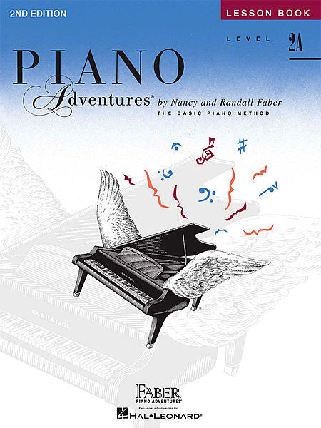 Level 2A - Lesson Book - 2nd Edition Piano Adventures Faber Piano Adventures Lesson Book