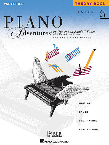 Level 2A - Theory Book - 2nd Edition Faber Piano Adventures