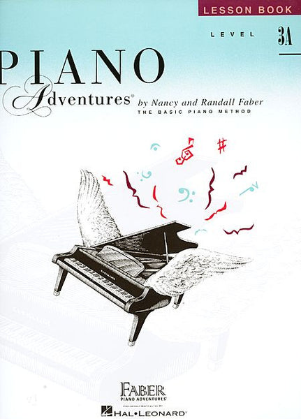 Level 3A - Lesson Book Piano Adventures Faber Piano Adventures Lesson Book