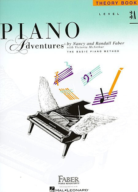Level 3A - Theory Book Piano Adventures Faber Piano Adventures Theory Book