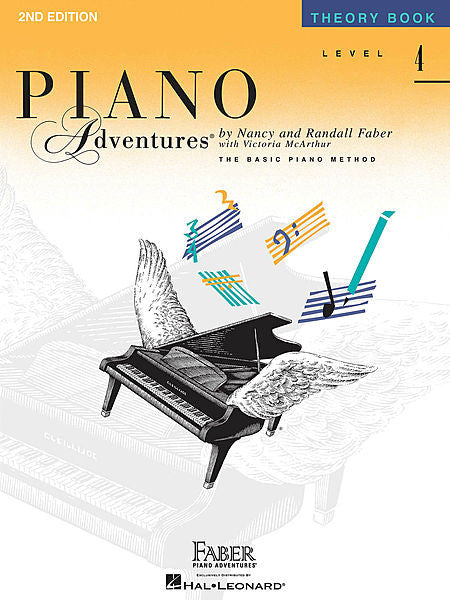 Level 4 - Theory Book Faber Piano Adventures