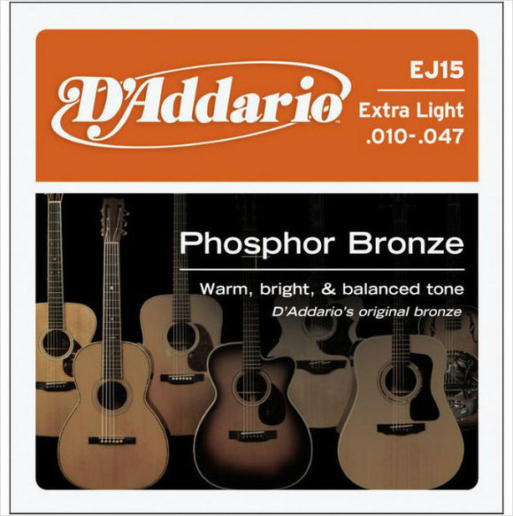 D'ADDARIO ENV/PKG SET Phosphor Bronze 10/47