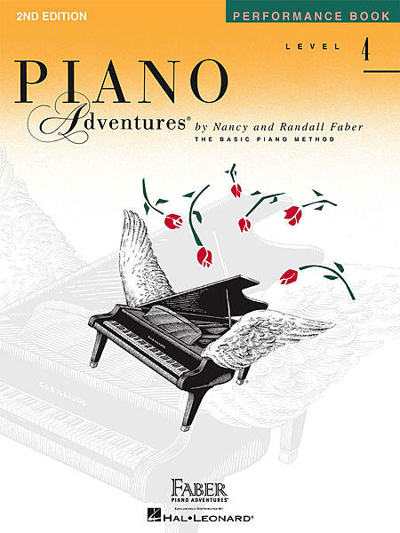 Level 4 - Performance Book - 2nd Edition Piano Adventures Faber Piano Adventures Performance Book