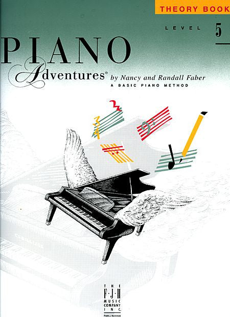 Level 5 - Theory Book Piano Adventures Faber Piano Adventures Theory Book