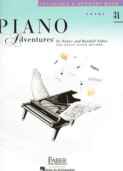 Level 3A - Technique & Artistry Book Piano Adventures Faber Piano Adventures Technique & Artistry Book