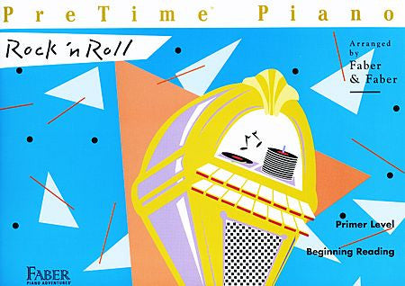 PreTime Rock 'n Roll Primer Level Faber Piano Adventures Book