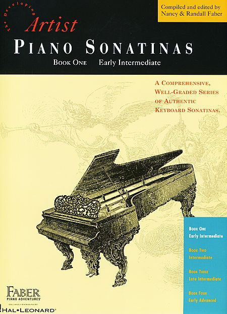 Piano Sonatinas - Book One Developing Artist Original Keyboard Classics compiled and edited by Faber & Faber Faber Piano Adventures