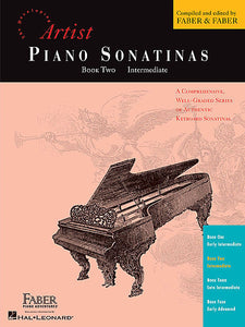 Piano Sonatinas - Book Two Developing Artist Original Keyboard Classics Faber Piano Adventures