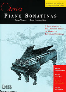 Piano Sonatinas - Book Three Developing Artist Original Keyboard Classics Faber Piano Adventures