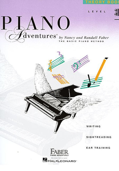Level 3B - Theory Book Piano Adventures Faber Piano Adventures Theory Book