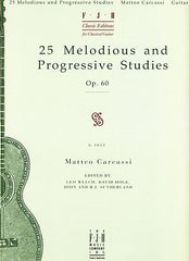 25 Melodious and Progressive Studies, Op. 60 (NFMC) - Matteo Carcassi - Guitar Book