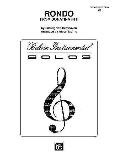 Beethoven - Rondo (from Sonatina in F) arr. Morris, Flute, Oboe (2nd Fl.) and Clarinet