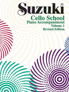 Suzuki Cello School Piano Acc., Volume 1 (Revised)