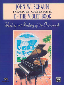 Schaum, John W. - Piano Course, E: The Violet Book - Piano Method Series*