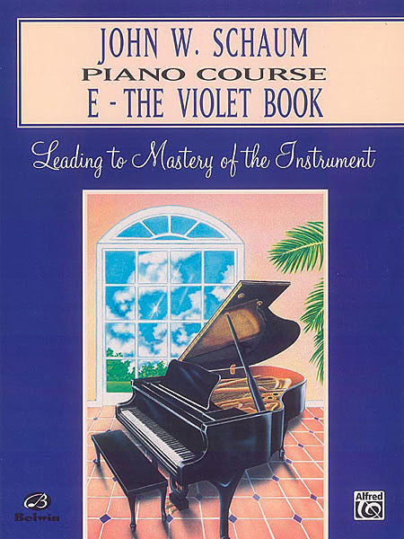 John W. Schaum Piano Course, E: The Violet Book