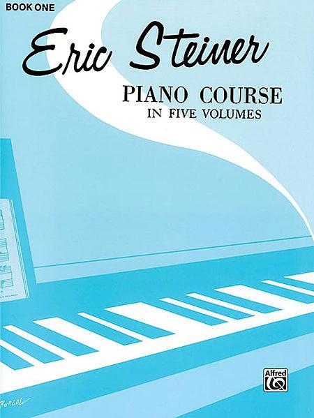Steiner, Eric - Piano Course, Book 1 - Piano Method Series*