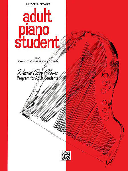 Adult Piano Student, Level 2 - Glover