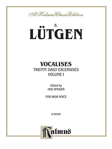 Vocalises: 20 Daily Exercises