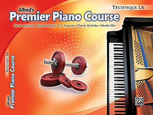 Premier Piano Course: Technique Book 1A