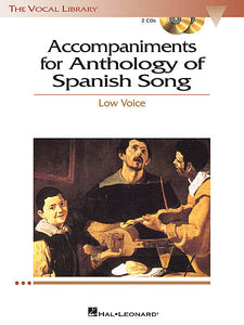 Anthology of Spanish Song The Vocal Library High Voice edited by Maria Di Palma & Richard Walters Vocal Collection High Voice