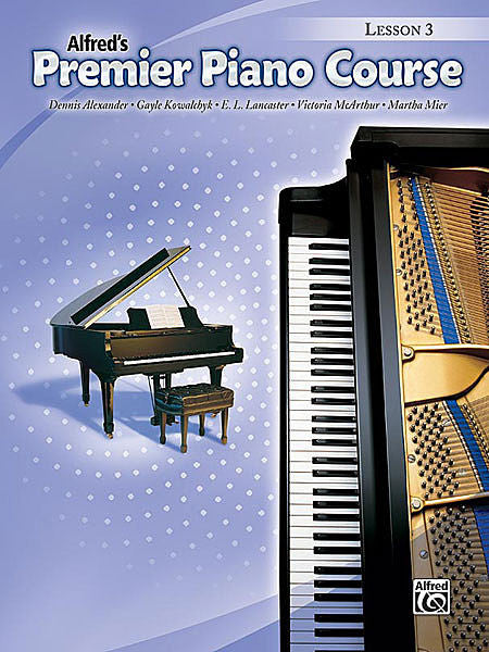 Premier Piano Course: Lesson Book 3