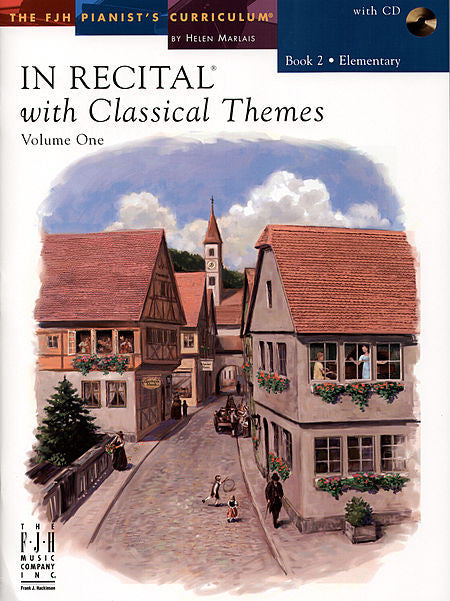 In Recital with Classical Themes, Volume One, Book 2 - various - Piano Book