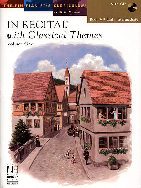 In Recital with Classical Themes, Volume One, Book 4 - various - Piano Book