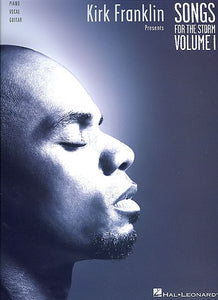 Kirk Franklin Presents Songs for the Storm, Volume 1 Piano/Vocal/Guitar Artist Songbook P/V/G