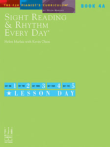Sight Reading & Rhythm Every Day, Book 4A - Helen Marlais with Kevin Olson - Piano Book