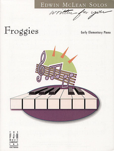 Froggies (NFMC) - Edwin McLean - Piano Solo Sheet