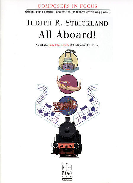 All Aboard! - Judith R. Strickland - Piano Book