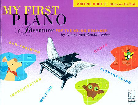 My First Piano Adventure Writing Book C Faber Piano Adventures Writing Book C