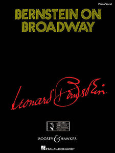 Bernstein on Broadway Piano Vocal Piano/Vocal