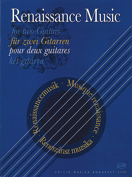 Renaissance Music for Two Guitars EMB
