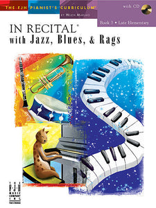 In Recital with Jazz, Blues, & Rags, Book 3 (NFMC) - various - Piano Book