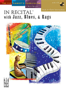 In Recital with Jazz, Blues, & Rags, Book 4 (NFMC) - various - Piano Book