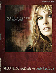 Natalie Grant - Relentless P/V/G Folio Shawnee Press P/V/G