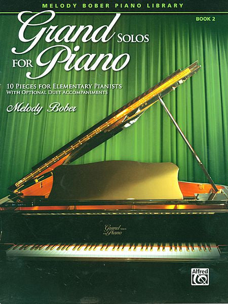 Grand Solos for Piano, Book 2 - Bober