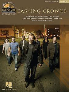 Casting Crowns Piano Play-Along Volume 65 Book/CD Pack Piano Play-Along P/V/G